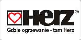 Pierwsze logo firmy HERZ Armaturen AG.
